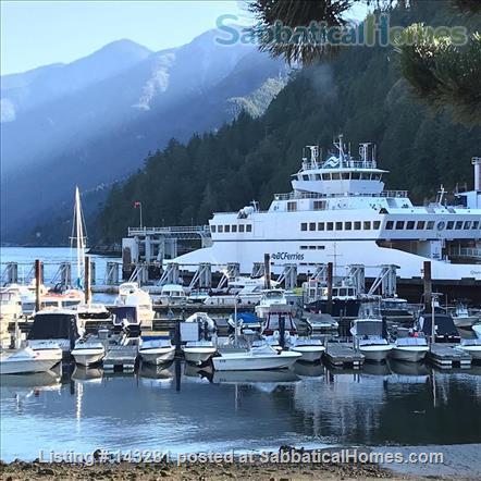 FAMILY FRIENDLY HOME IN THE BEAUTIFUL SEASIDE NEIGHBOURHOOD OF HORSESHOE BAY, WEST VANCOUVER (JULY/AUGUST 2021) Home Rental in West Vancouver, British Columbia, Canada 1