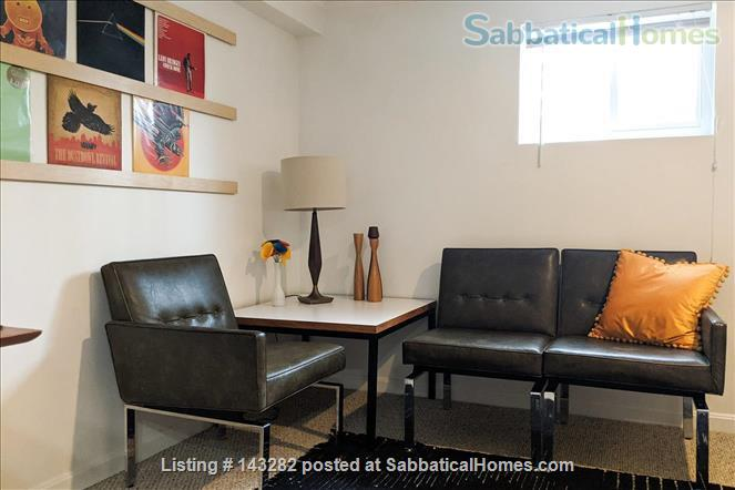 Retro basement suite with office Home Rental in Silver Spring, Maryland, United States 1