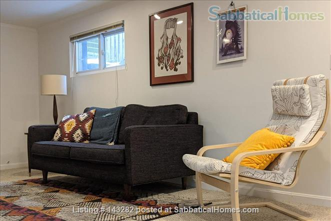 Retro basement suite with office Home Rental in Silver Spring, Maryland, United States 0