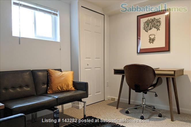 Retro basement suite with office Home Rental in Silver Spring, Maryland, United States 3