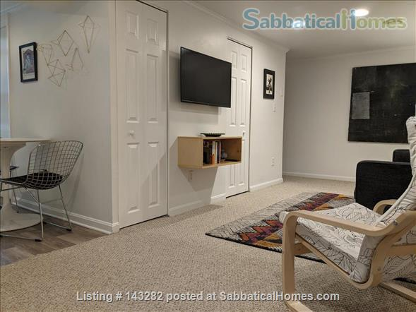 Retro basement suite with office Home Rental in Silver Spring, Maryland, United States 4