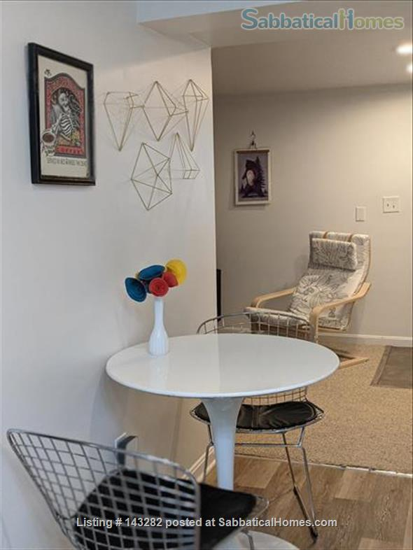 Retro basement suite with office Home Rental in Silver Spring, Maryland, United States 6