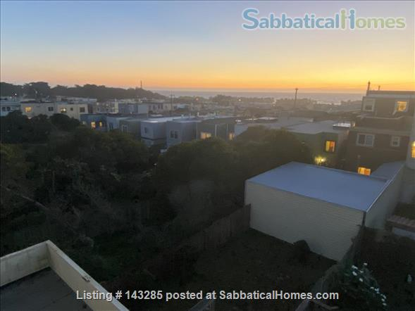Spacious View Home  3 B/R+, 2 BA, Large Deck and Yard, Parking, W/D Home Rental in San Francisco, California, United States 1