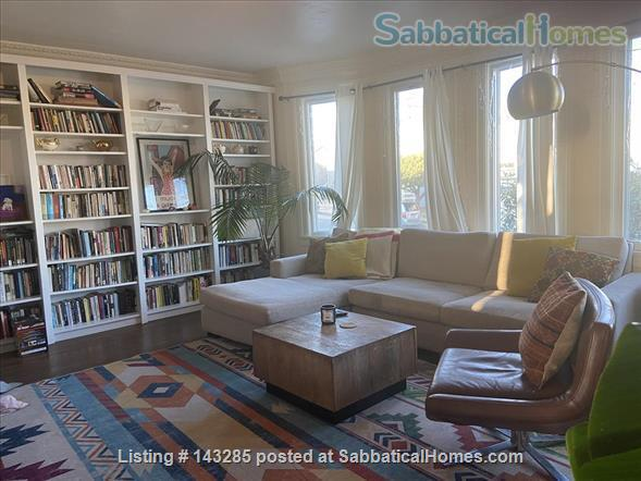 Spacious View Home  3 B/R+, 2 BA, Large Deck and Yard, Parking, W/D Home Rental in San Francisco, California, United States 3