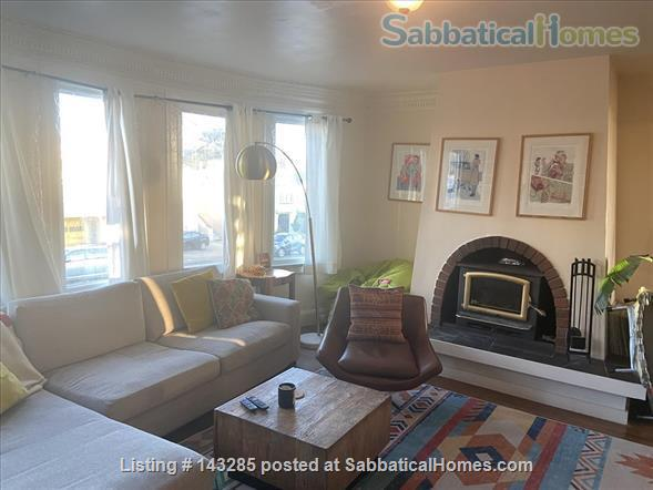 Spacious View Home  3 B/R+, 2 BA, Large Deck and Yard, Parking, W/D Home Rental in San Francisco, California, United States 4