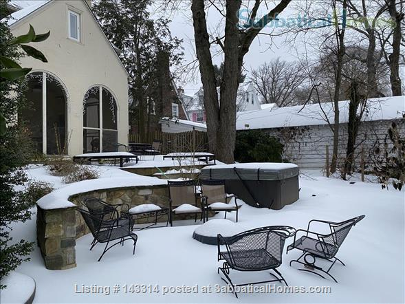 Lovely furnished home close to Narberth shops and train station  Home Rental in Merion Station, Pennsylvania, United States 9