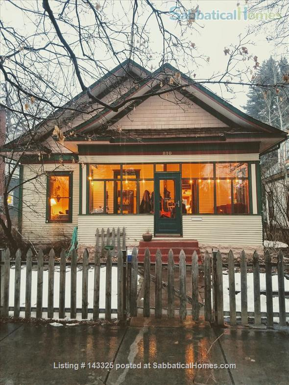 Historic home in old town Fort Collins for lease Aug 2021-Aug 2022  Home Exchange in Fort Collins, Colorado, United States 1