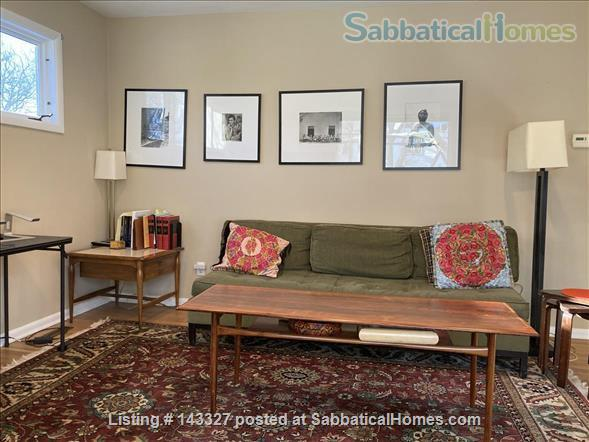 Beautiful big sunny 1BR with large courtyard; Walk to  central campus Home Rental in Ann Arbor, Michigan, United States 0