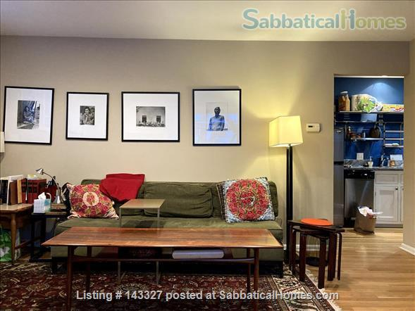 Beautiful big sunny 1BR with large courtyard; Walk to  central campus Home Rental in Ann Arbor, Michigan, United States 2
