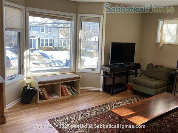 Beautiful big sunny 1BR with large courtyard; Walk to  central campus Home Rental in Ann Arbor, Michigan, United States 3