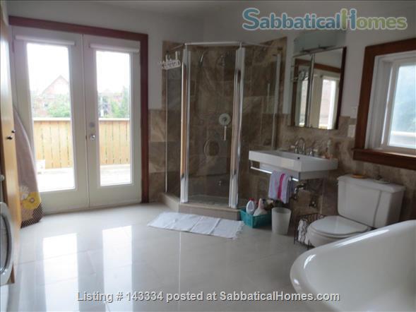 Stunning, Serene Oasis in the City:  3 Bedroom Gem Home Rental in Toronto, Ontario, Canada 9