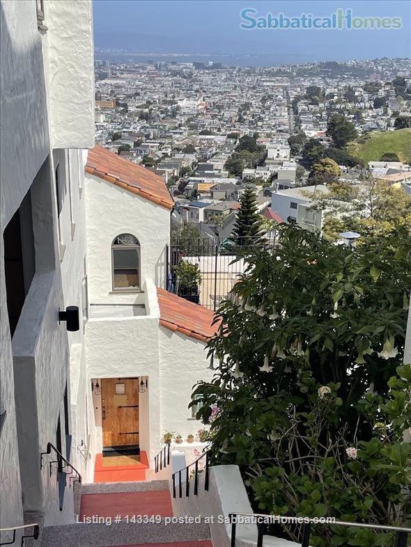 Serene and Charming, Furnished SF Condo with Panoramic Views (1600+ sq ft) Home Rental in San Francisco 1