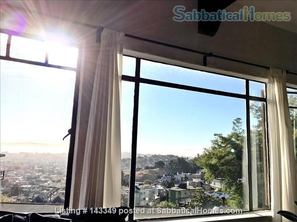 Serene and Charming, Furnished SF Condo with Panoramic Views (1600+ sq ft) Home Rental in San Francisco 6