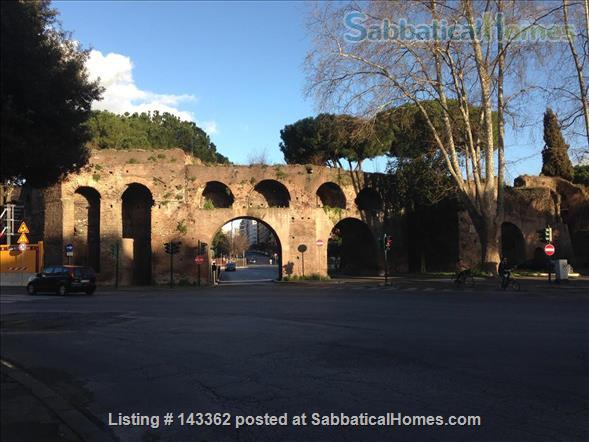 Design apt 45 sqm city center and  Rome Archeological park Home Rental in Rome, Lazio, Italy 1