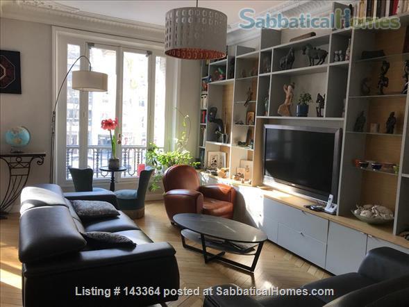 Beautiful and spacious  3/4 bedrooms apartment near Luxembourg garden- quartier latin- Montparnasse-Paris 6ème Home Rental in Paris, Île-de-France, France 1