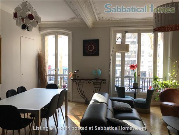 Beautiful and spacious  3/4 bedrooms apartment near Luxembourg garden- quartier latin- Montparnasse-Paris 6ème Home Rental in Paris, Île-de-France, France 0