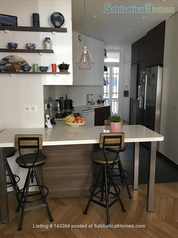 Beautiful and spacious  3/4 bedrooms apartment near Luxembourg garden- quartier latin- Montparnasse-Paris 6ème Home Rental in Paris, Île-de-France, France 2