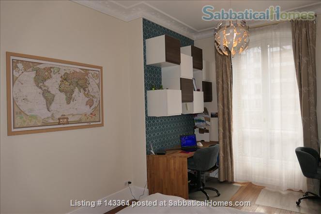 Beautiful and spacious  3/4 bedrooms apartment near Luxembourg garden- quartier latin- Montparnasse-Paris 6ème Home Rental in Paris, Île-de-France, France 6