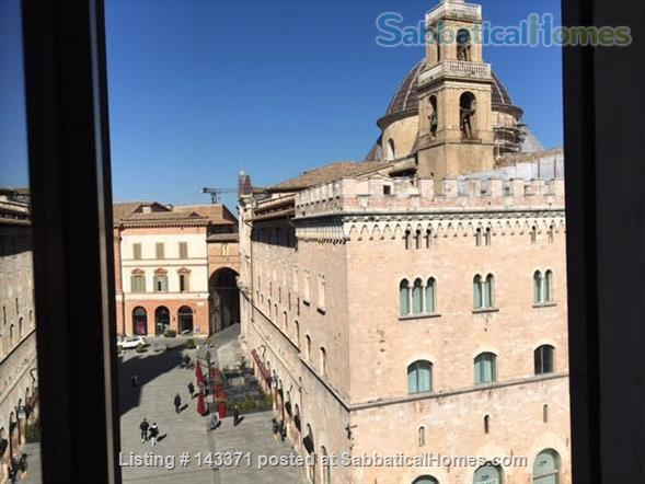 Rooftop apartment on medieval piazza Home Rental in Foligno, Umbria, Italy 9