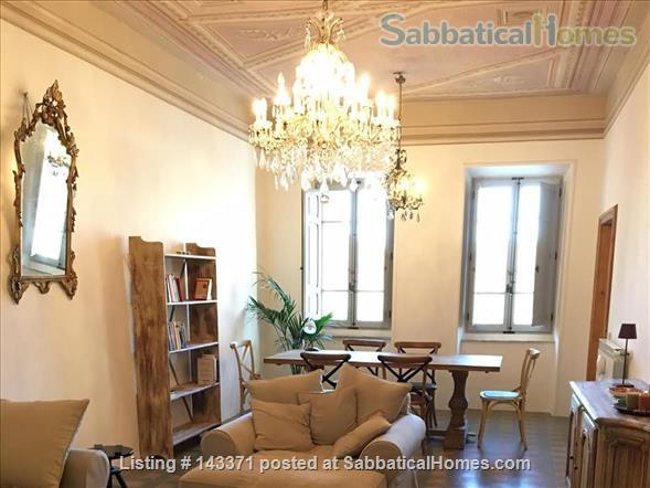 Rooftop apartment on medieval piazza Home Rental in Foligno, Umbria, Italy 1