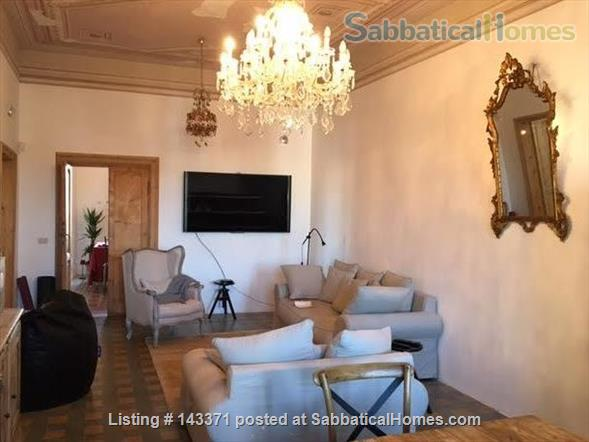 Rooftop apartment on medieval piazza Home Rental in Foligno, Umbria, Italy 0