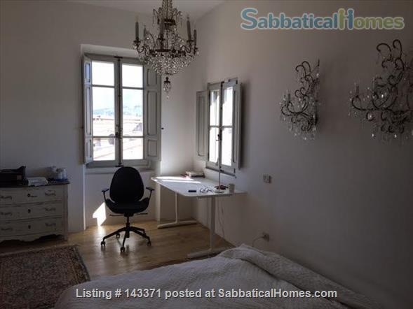 Rooftop apartment on medieval piazza Home Rental in Foligno, Umbria, Italy 2