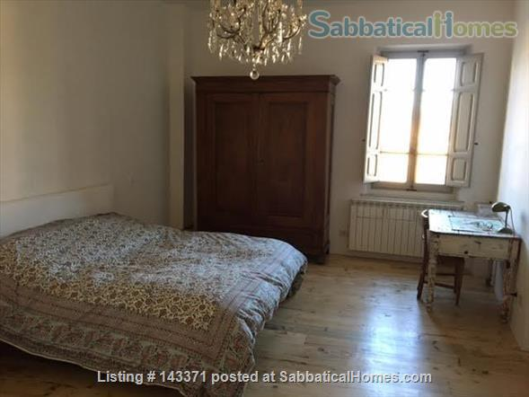 Rooftop apartment on medieval piazza Home Rental in Foligno, Umbria, Italy 4