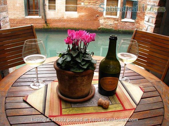 Ca' Venexiana, quiet 2 bedroom with private canalside courtyard ~ no extra fees Home Rental in Venezia, Veneto, Italy 9