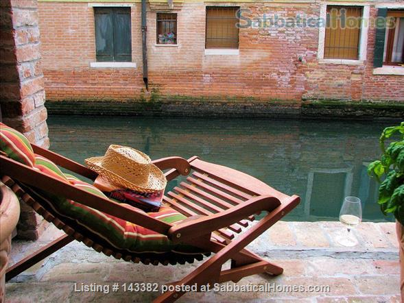 Ca' Venexiana, quiet 2 bedroom with private canalside courtyard ~ no extra fees Home Rental in Venezia, Veneto, Italy 1