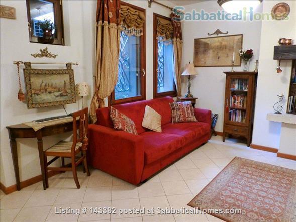 Ca' Venexiana, quiet 2 bedroom with private canalside courtyard ~ no extra fees Home Rental in Venezia, Veneto, Italy 0