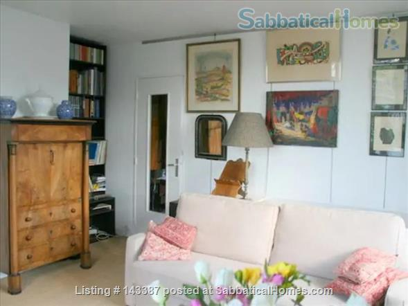 Romantic Studio, Terrace with  Eiffel Tower   Home Rental in Paris 1
