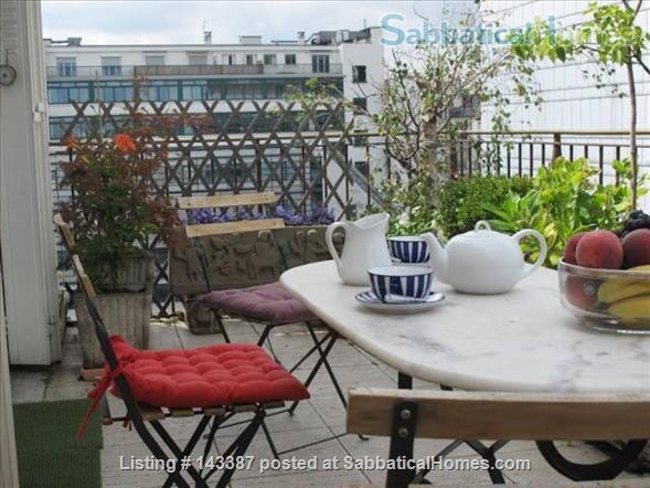 Romantic Studio, Terrace with  Eiffel Tower   Home Rental in Paris 0