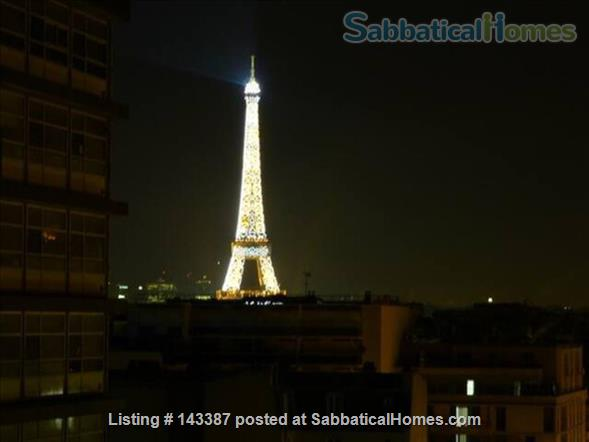 Romantic Studio, Terrace with  Eiffel Tower   Home Rental in Paris 2