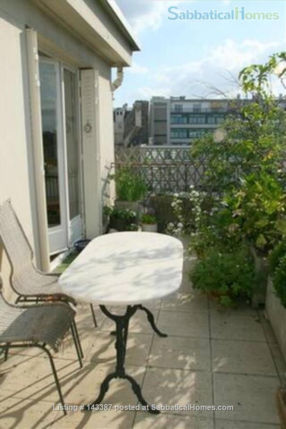 Romantic Studio, Terrace with  Eiffel Tower   Home Rental in Paris 5