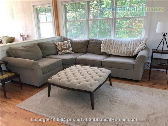 Cozy Cottage Apt on Conservation Land Near White Mountains Home Rental in Tamworth, New Hampshire, United States 3