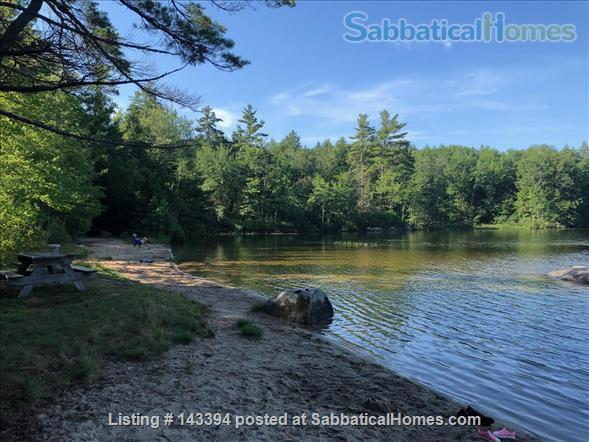 Cozy Cottage Apt on Conservation Land Near White Mountains Home Rental in Tamworth, New Hampshire, United States 8