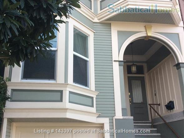Traditional Victorian Flat in quiet neighborhood  Home Rental in San Francisco, California, United States 1
