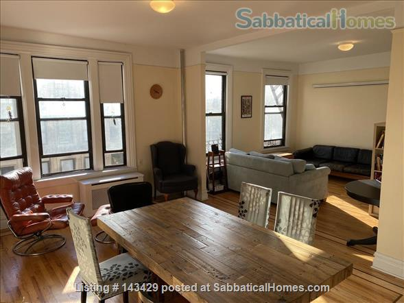 sunny 2br apartment 3 blocks from Columbia campus Home Rental in New York, New York, United States 1