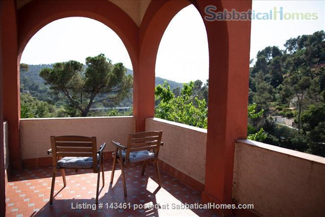 Beautiful house in Barcelona surrounded  by nature Home Rental in Barcelona, Catalunya, Spain 2