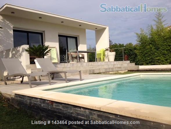 Maison d'Architecte, garage piscine... a 10km de Montpellier Home Rental in Fabrègues, Occitanie, France 1