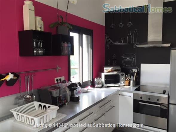 Maison d'Architecte, garage piscine... a 10km de Montpellier Home Rental in Fabrègues, Occitanie, France 4