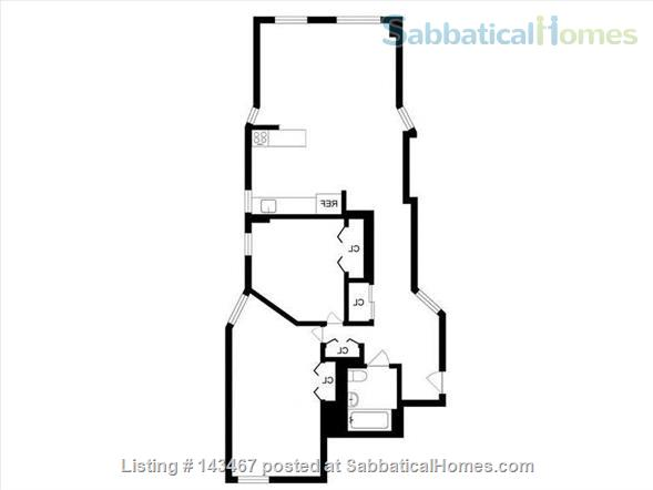 Home to rent: Spacious 2-BR in Central Harlem, w/ shared gym, laundry, and back patio! Home Rental in New York, New York, United States 9