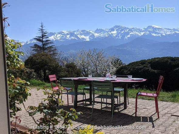 Peaceful, Spacious, Bright, 4-BedRoom, 2-BathRoom and Furnished House with Beautiful Views on the French Alps (Grenoble area) Home Exchange in Saint-Ismier, Auvergne-Rhône-Alpes, France 9