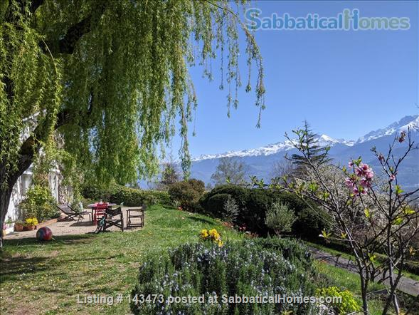 Peaceful, Spacious, Bright, 4-BedRoom, 2-BathRoom and Furnished House with Beautiful Views on the French Alps (Grenoble area) Home Exchange in Saint-Ismier, Auvergne-Rhône-Alpes, France 1