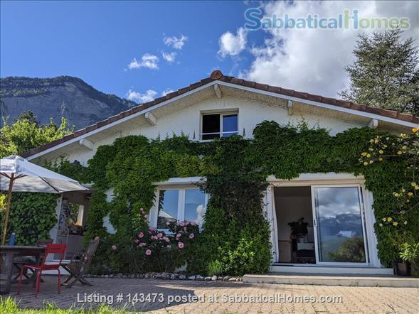 Peaceful, Spacious, Bright, 4-BedRoom, 2-BathRoom and Furnished House with Beautiful Views on the French Alps (Grenoble area) Home Exchange in Saint-Ismier, Auvergne-Rhône-Alpes, France 0