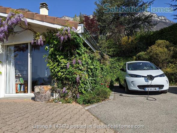Peaceful, Spacious, Bright, 4-BedRoom, 2-BathRoom and Furnished House with Beautiful Views on the French Alps (Grenoble area) Home Exchange in Saint-Ismier, Auvergne-Rhône-Alpes, France 2