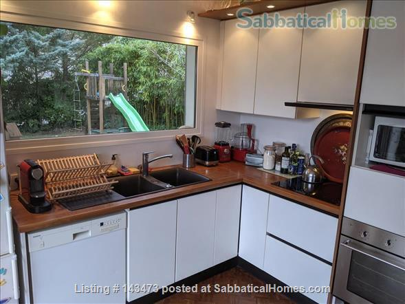 Peaceful, Spacious, Bright, 4-BedRoom, 2-BathRoom and Furnished House with Beautiful Views on the French Alps (Grenoble area) Home Exchange in Saint-Ismier, Auvergne-Rhône-Alpes, France 5