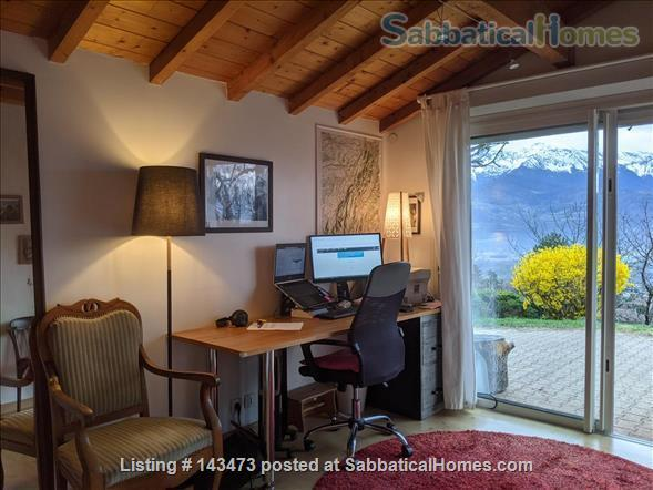 Peaceful, Spacious, Bright, 4-BedRoom, 2-BathRoom and Furnished House with Beautiful Views on the French Alps (Grenoble area) Home Exchange in Saint-Ismier, Auvergne-Rhône-Alpes, France 6