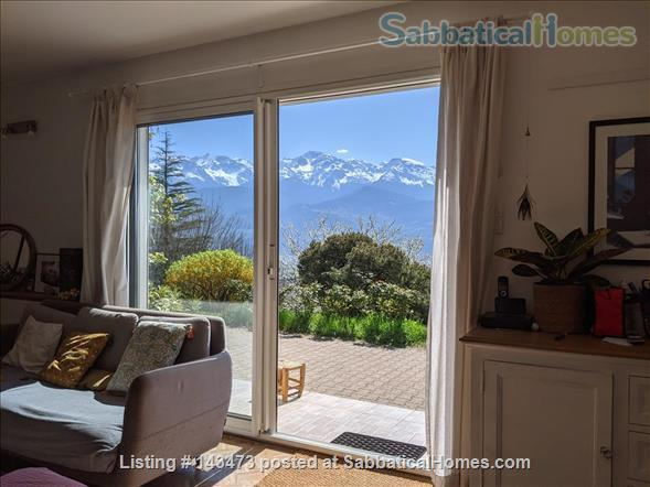 Peaceful, Spacious, Bright, 4-BedRoom, 2-BathRoom and Furnished House with Beautiful Views on the French Alps (Grenoble area) Home Exchange in Saint-Ismier, Auvergne-Rhône-Alpes, France 8