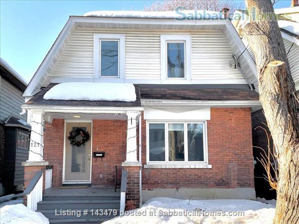 Character home in the heart of Ottawa, Canada, close to Ottawa U and Carleton Home Rental in Ottawa, Ontario, Canada 1